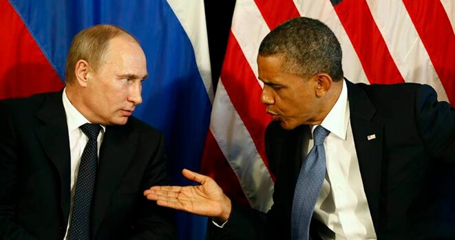 Vladimir Poutine et Barack Obama © Reuters