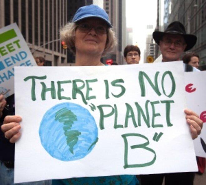 Marche pour le climat à New York © Reuters