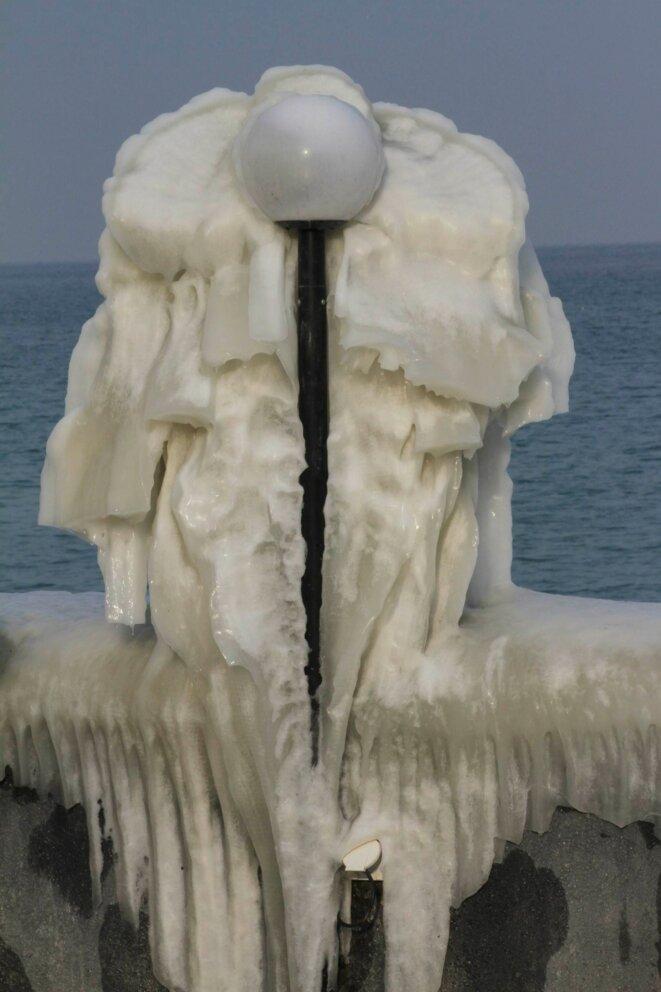 habillé pour l'hiver