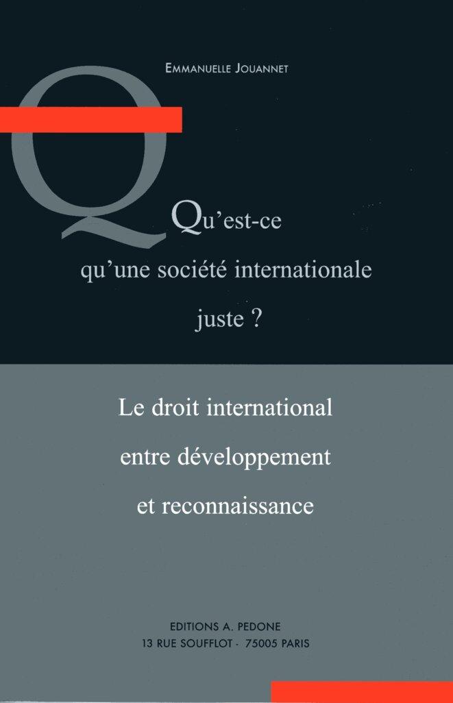 Qu'est-ce qu'une société internationale juste ? © Emmanuelle Jouannet