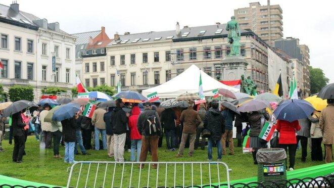 Bruxelles - Soutien aux prisonniers iraniens de #350 Evin