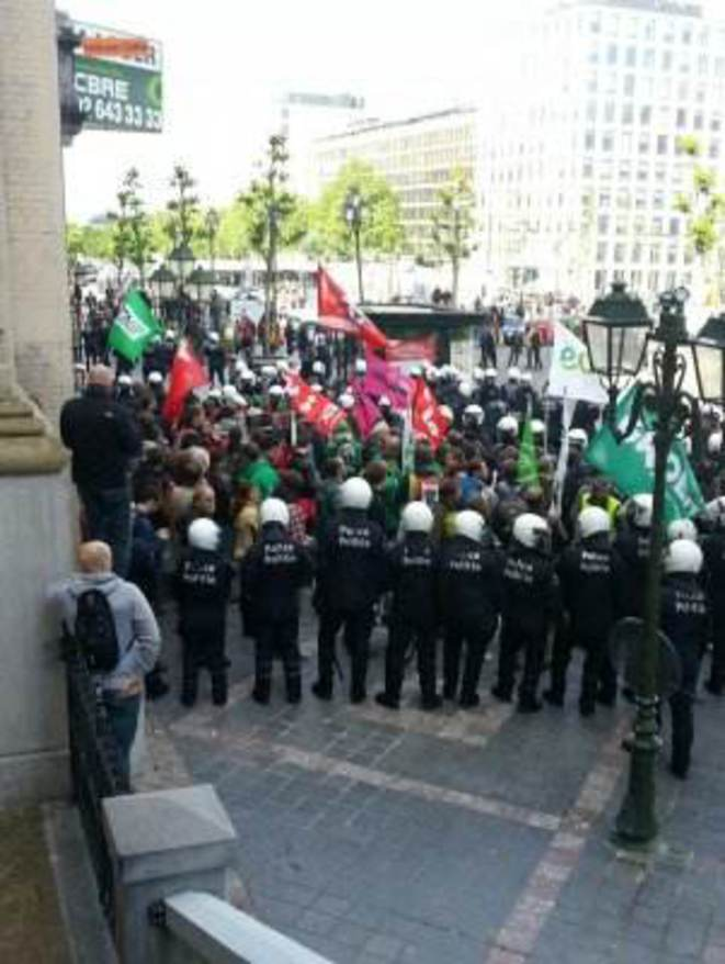 Bruxelles, 15 mai, Manif anti-TTIP ©ThomasOccupy