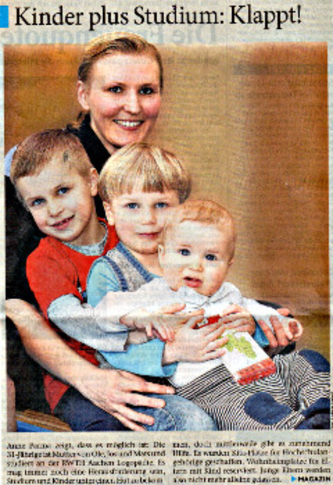 photo de famille © Duerener Zeitung