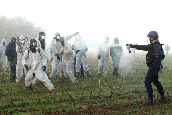 à Lieussaint, près de Valognes, 23 novembre 2011 © Benoît Tessier / Reuters