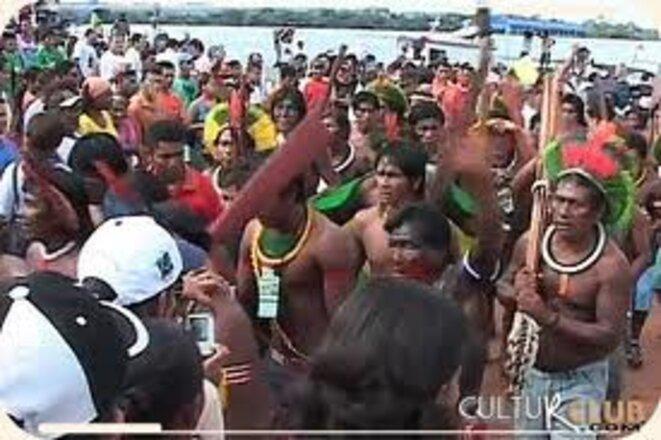 Contre le barrage de Belo Monte © anonyme