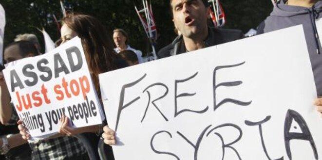 Syria free ! © Le Monde / AFP / Reuters