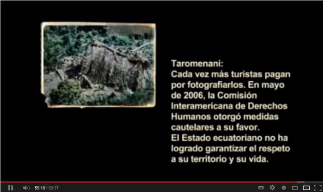 Taromenani, el extermino de los pueblos ocultos © Carlos Andrés Vera