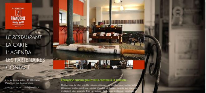 Page d'accueil du site © www.melido.fr