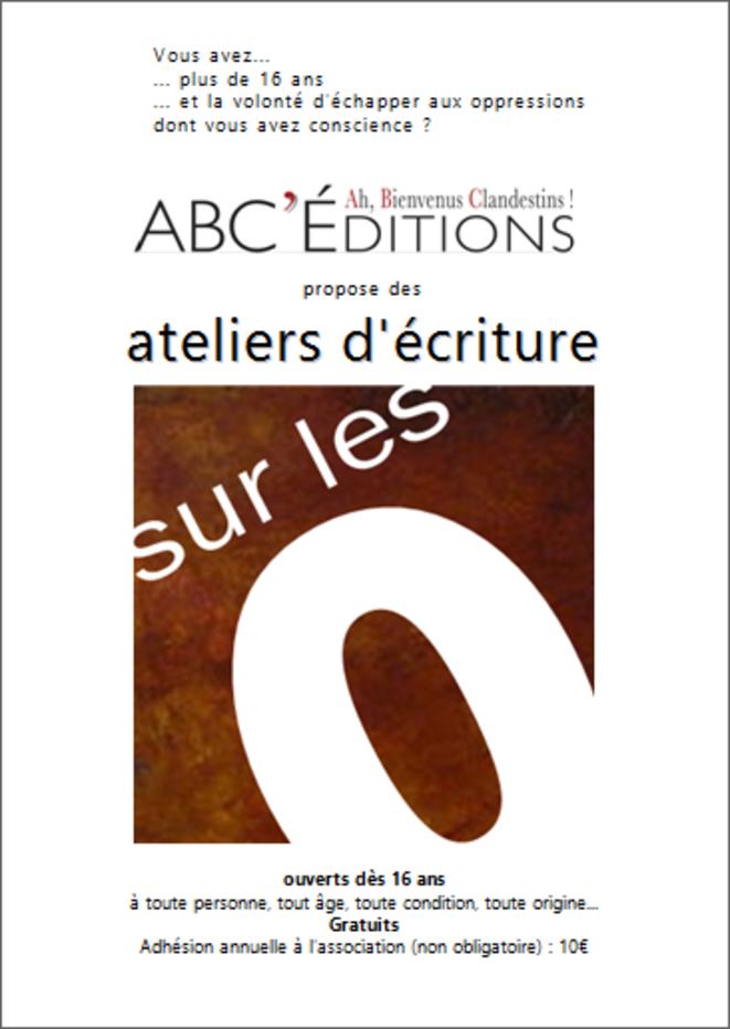 Sur les oppressions © ABC'éditions Ah Bienvenus Clandestins !
