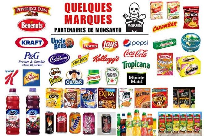 Marques partenaires de Monsanto © Indignés du monde entier