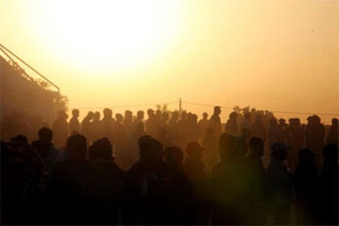 Transit entre la Lybie et la Tunisie