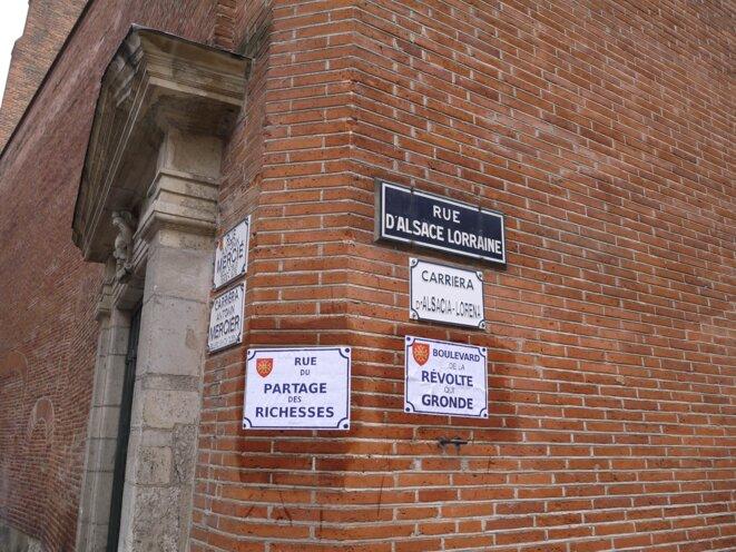 Rues débaptisées  © RC