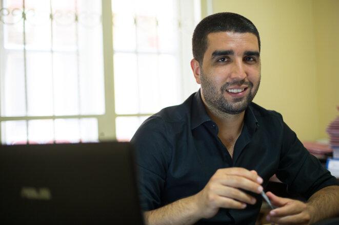 Ramazan Demir, à son bureau (© P-Mod)