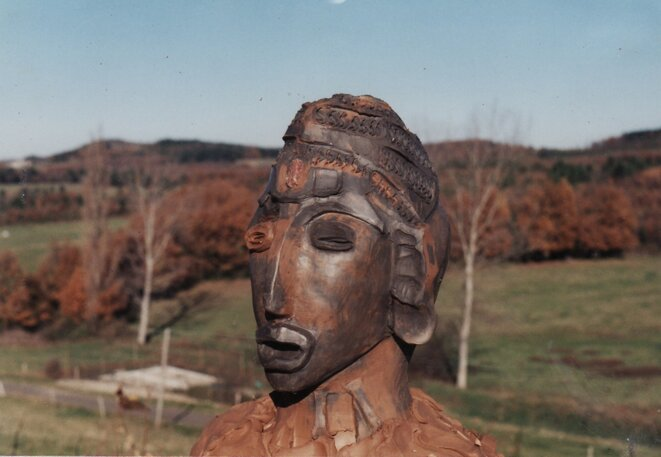 Sculpture argile © Thierry de Pontcharra