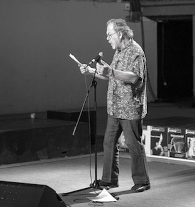 Julien Blaine en (poésie) action