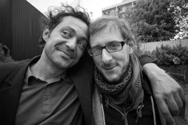 Lazare et Samuel Wahl © Olivier Perrot