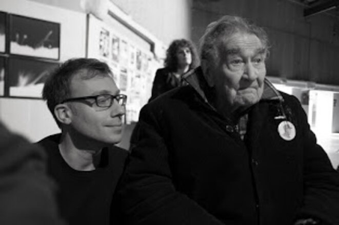 Olivier Neveux et Armand Gatti © Olivier Perrot