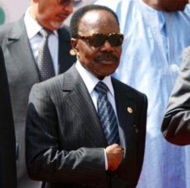 Omar Bongo, l'ancien président du Gabon et père de l'actuel. © Reuters
