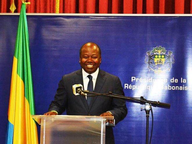 Alain Claude Bilie By Nze, le porte-parole du président gabonais.