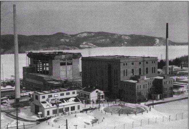 Centre Nucléaire de Chalk River en 1945