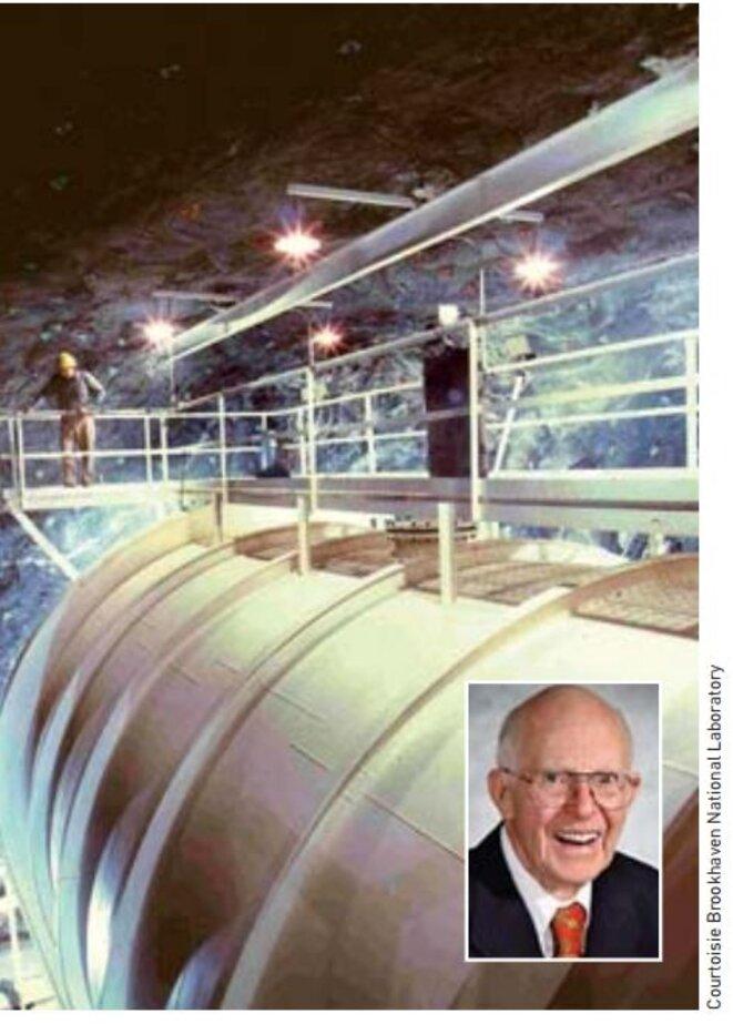 Ray Davis et le détecteur de la mine de Homestake
