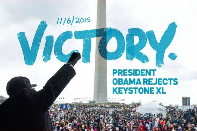Abandon de Keystone XL : victoire de la désobéissance civile contre l'industrie fossile !
