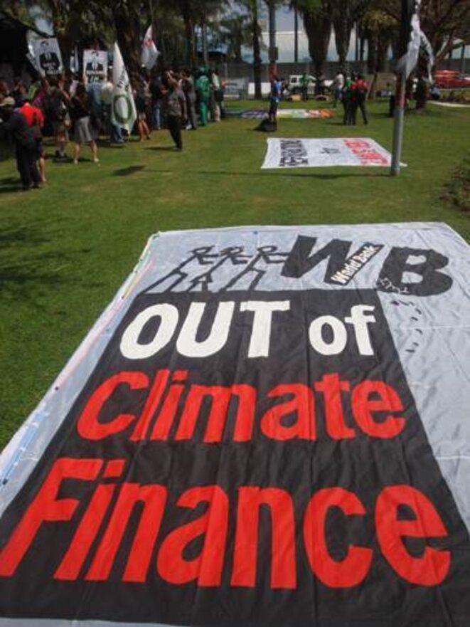 Pas de Banque Mondiale dans les financements climat ! © Alter-Echos (www.alter-echos.org)