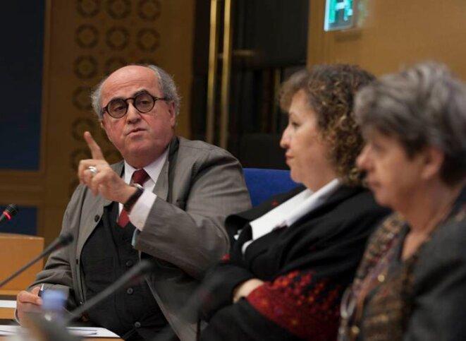 Elias Sanbar, Ambassadeur de Palestine auprès de l'UNESCO. © Thomas Haley
