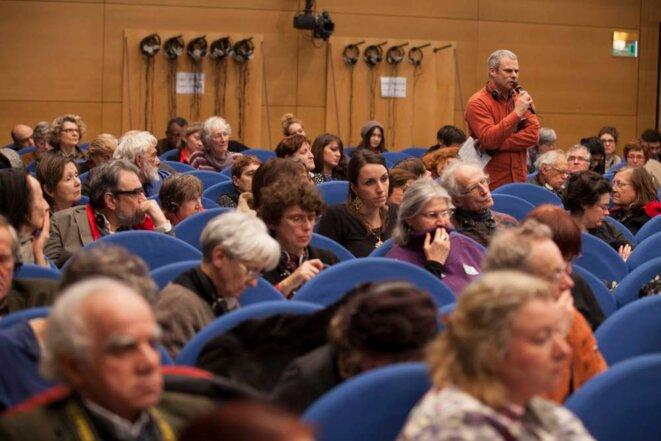 Serge Grossvak est concerné par le drame palestinien car il affecte aussi les juifs dans leur identité.  © Thomas Haley