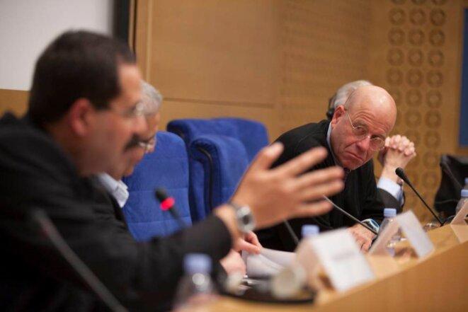 """Dr. Sabri Saidam: """"Nous sommes fatigués d'attendre, nous attendons depuis 20 ans."""" © Thomas Haley"""