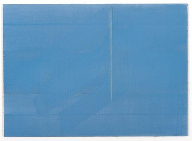 Geneviève Asse, Granit bleu