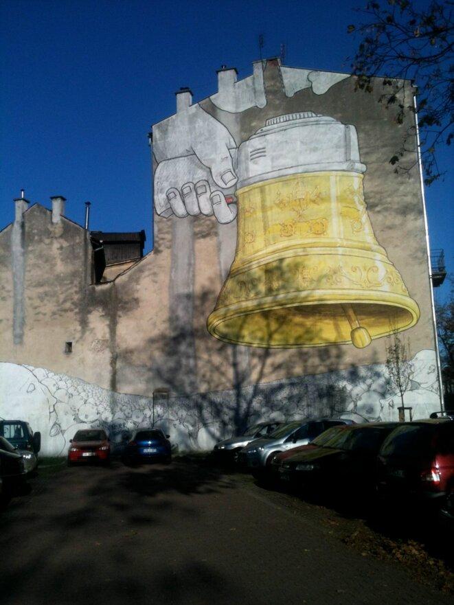 mural à Podgorze