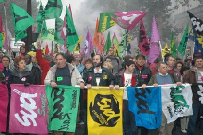 Les syndicats SUD ont émergé des grèves de décembre 1995.