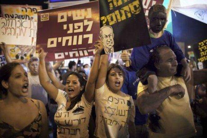 Les Indignés en Israël, aussi... «La vague de rébellion a explosé partout.»