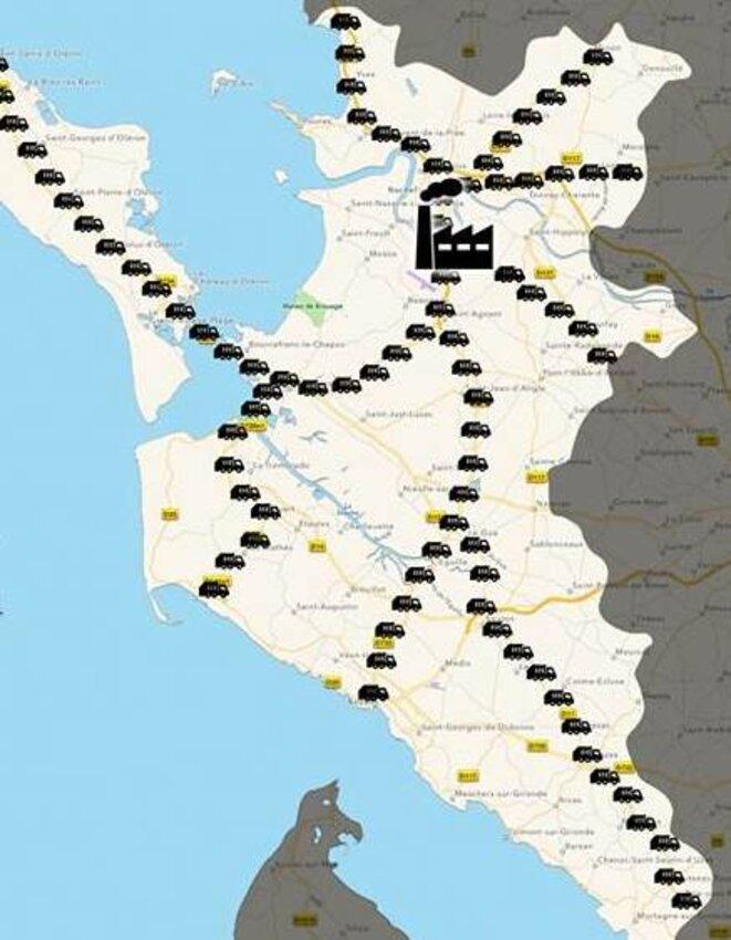 140 camions viendraient décharger dans le Pays rochefortais les déchets de 97 communes