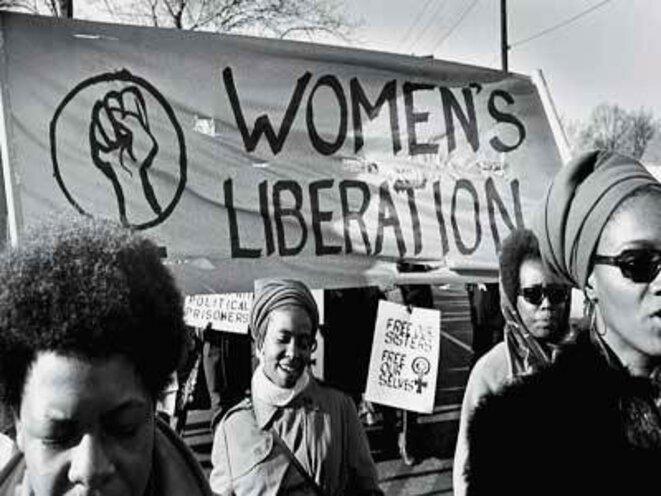 Manif de féministes Noires en 1970. « Le féminisme moderne, principal héritage de 1968. »