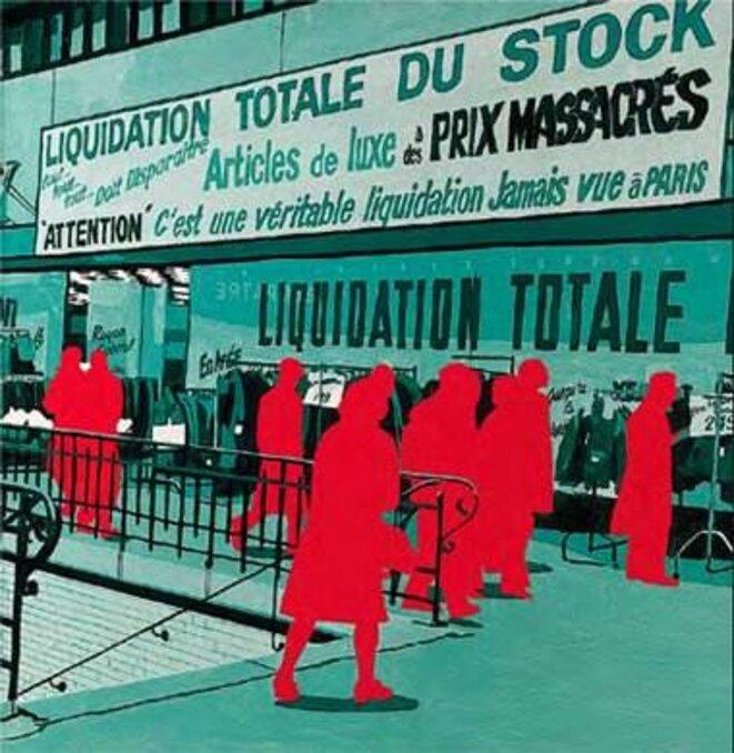 «Boulevard des Italiens», Gérard Fromanger, 2003-2006 (DR)