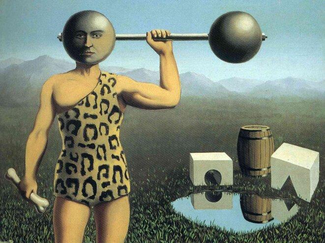 «Le mouvement perpétuel», René Magritte.