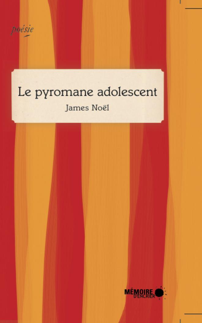Le pyromane adolescent de James Noël,  Mémoire d'Encrier 2013
