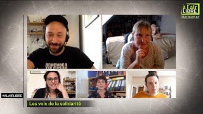 «À l'air libre»: les voix de la solidarité, le sommet européen et la Tunisie