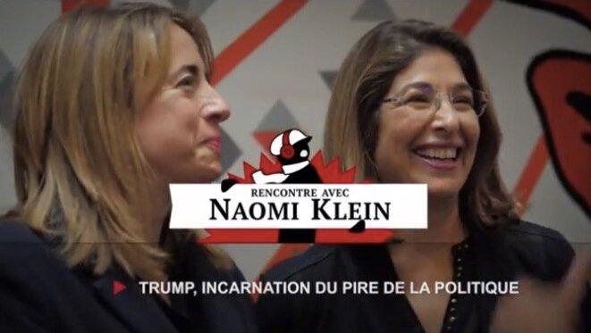 Naomi Klein: agir contre Trump et son monde