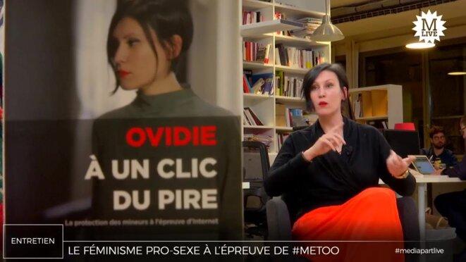 Ovidie: «#MeToo n'a pas franchi le mur de l'industrie porno»