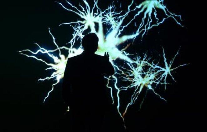 """Robert Lepage dans """"887"""" © Érick Labbé"""