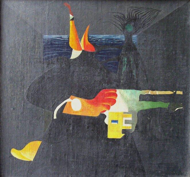 Toile de Endre Balint