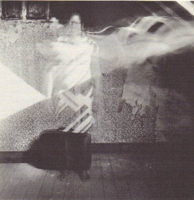 Autoportrait (tirage argentique), 2008