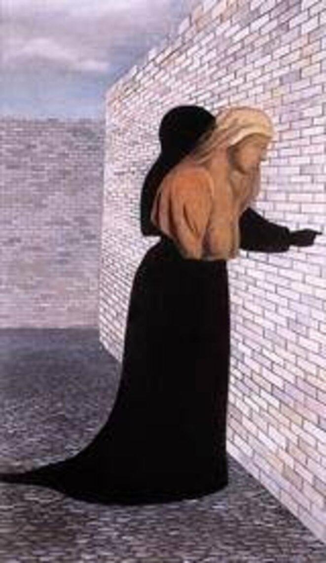 "Lili Orszag, ""Femme en robe noire"""