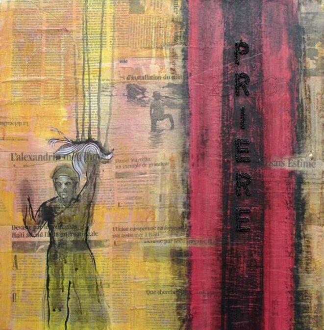 """Pascale Monnin, """"Prière"""" © Galerie Monnin"""