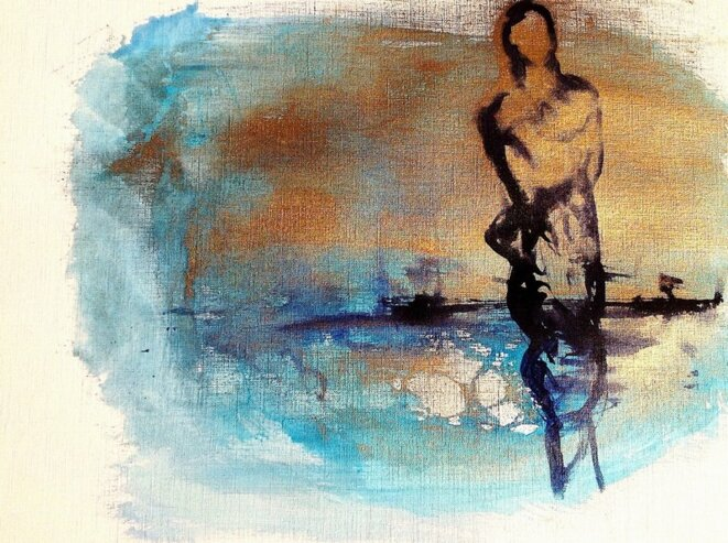 Transparence, encre