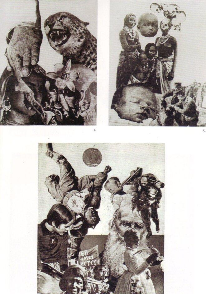 Lajos Vajda, photomontages, 1930-1933