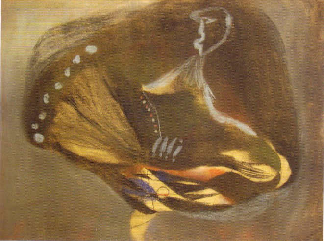 Lajos Vajda - Pastel sur papier, 1938